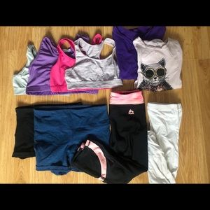 10 piece 10/12 year summer active mixed girl lot
